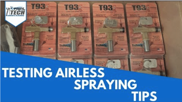 airless spraying tips from graco, tritech, wagner, farbmax, titan
